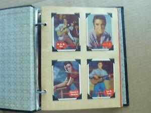 RARE COMPLET SET 1956 Topps Elvis Presley COMPLET SET 1 TO 66