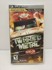 Sony Playstation Portable PSP Twisted Metal Head-On Complete CIB w/ Manual WORKS