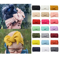 Kids Girl Baby Headband Bow Flower Hair Band Accessories Toddler Hair Band Wraps