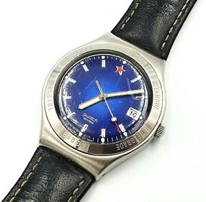 Swatch FROM RUSSIA WITH LOVE Quartz Limited Watch YGS423