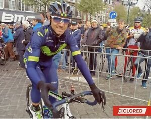 Endura Cycling Big Leggings Padded Winter movistar 2017 rider Alejandro Valverde