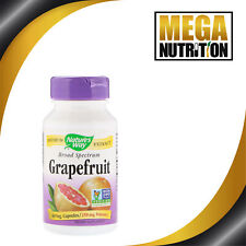 Natures Way Grapefruit Seed Extract 250mg 60 Veggie Caps Candida Detox Cleanse