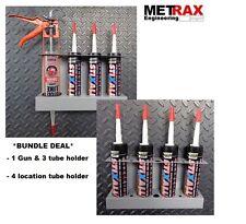 2x Gun & Tube Holders  / Mastic Silicone Sealant holders Van Storage - Bundle