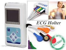 Dinamico 12-Channel 24h macchina di ECG Holter ECG Recorder, software di analisi