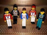 5 Lego Technic Figuren Minifig Technik Helme X36
