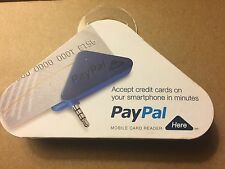 PayPal Here Card Reader for iPhone & Android devices 3.5mm jack NEW