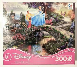 Thomas Kinkade Disney Puzzle 300 Pieces Cinderella
