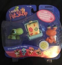 Hasbro LPS Littlest Pet Shop Turtle Hermit Crab #187 188