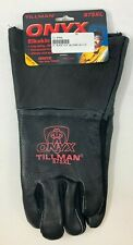 Tillman 875 Onyx All Black Premium Top Grain Elkskin Welding Gloves