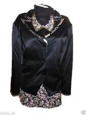 Plus Size Cotton Blend Business Coats & Jackets for Women