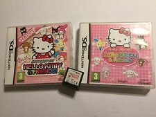 3 x NINTENDO DS DSL DSi GAMES Hello Kitty & Friends Happy Party +LOVING +DAILY