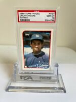 1989 Topps Traded Tiffany Deion Sanders #110T PSA 10 New York Yankees Rookie