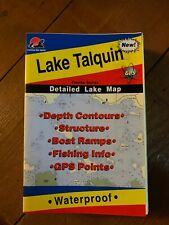 Florida Fishing Hot Spots Maps Used/New Of Lake Talquin