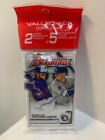 (1) 2020 Topps Bowman Baseball Value Cello Hanger Pack 29 Cards New Sealed