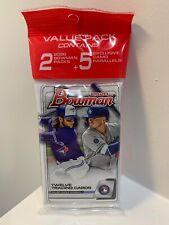 (1) 2020 Topps Bowman Baseball Value Cello Hanger Pack 29 Cards New Sealed