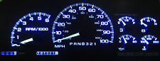 CHEVY TAHOE 1999 - 2002 BLUE LED SPEEDOMETER GAUGE CLUSTER UPGRADE KIT