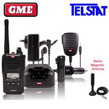 GME TX6160 Walkie Talkie 5 watt UHF CB Handheld Radio BONUS Magnetic Antenna