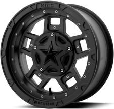 KMC XD XS827 RS3 UTV Aluminum Wheel Rim 14x7 4/156 4+3 Offset Satin Black
