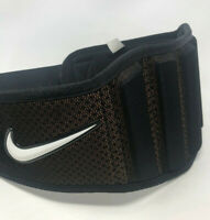 New Nike Strength Training Belt LARGE Workout Training Back Support Gym Crossfit