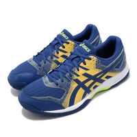 Asics Gel-Rocket 9 Blue Yellow White Men Volleyball Badminton Shoes 1071A030-401