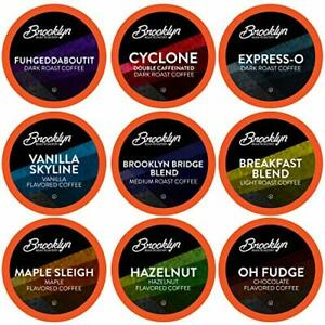 Brooklyn Beans Coffee Pods Assorted Gourmet Variety Pack Compatible with 2.0 ...