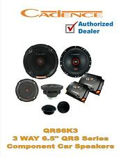 "Cadence QRS6K3 500W Peak 6.5"" 3-Way QRS Series Component Car Speakers"