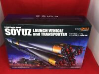 1/150 Plastic Model Soyuz Rocket + Transport Train GOOD SMILE COMPANY