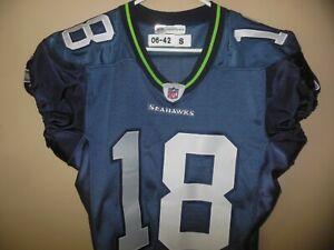 Team-Issued Seattle Seahawks football jersey