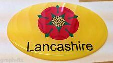 LANCASTER Autocollant Voiture Dôme 3D badge Lancashire gel