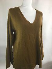 J. Crew Women's Sweater Size L Wool Brown