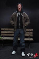 "1:6 Scale Burning Soul Deadpool Costume Suits Set Clothes F/12"" Male Figure Body"