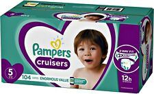 New Cruisers Diapers Size 5 104 Count