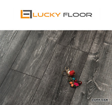 Sample: 1.8m Dark Oak LAMINATE FLOORING/TIMBER LAMINATE/FLOATING FLOORBOARDS
