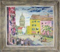 Original Joan Jameson Oil Painting ca.1949 - Ethel Kennedy Estate -Greenwich, CT
