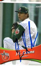 J.C. Cosme 2016 Fort Wayne Tincaps auto signed team set card Padres Ft. JC