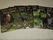 Battle Games in Middle-Earth 2,3,4,5,6,7 Games Workshop Lord of the Rings LOTR