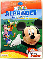 Disney Mickey Mouse Clubhouse Alphabet Learning Workbook (Pre-K) Multi-Color  3+