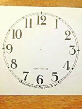 "4 1/2"" Seth Thomas Clock Paper Dial, Arabic Numeral                (Lot 187)"