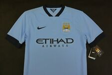 Nike Manchester City Home Shirt 2014- 2015 SIZE L (adults)