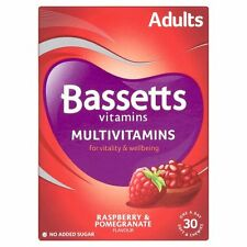 Bassetts Vitamins Adult Multivitamin - Raspberry & Pomegranate (30)FREE POSTAGE
