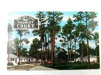 Vintage Postcard The Sea Gull Tourist Court The Beach US 90 Biloxi Mississippi
