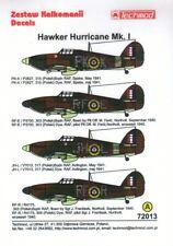 TM72013 NEW Techmod Decals 1:72 Hawker Hurricane Mk.I - 4 Markings Options