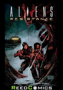 ALIENS RESISTANCE GRAPHIC NOVEL New Paperback Collects 4 Part Series