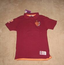 Virginia Tech Hokies Men's Medium Polo GOLF Shirt New Maroon VT Free Shipping