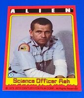 1979 Topps Alien Card #11 Movie Sigourney Weaver Tom Skerritt