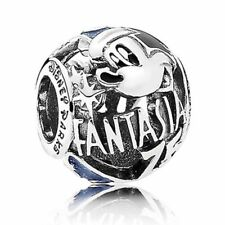 NEW Authentic Pandora Bead Disney Parks Exclusive Mickey Fantasia 75th Charm