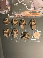 Hot Toys Star Wars Esb Boba Fett Deluxe MMS464 manos X 7 Set 2 Suelto Escala 1/6th