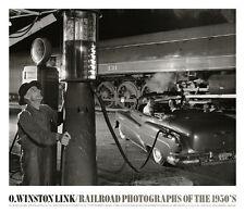 O Winston Link - Sometimes the Electricity Fails, August 8, 1956 Train Art Print