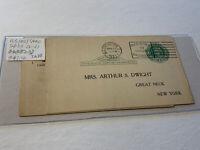 Old US Postcard 2 Pieces Lot IA88