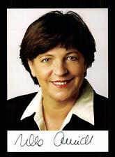 Ursula Schmidt AUTOGRAFO MAPPA ORIGINALE FIRMATO # BC 94680